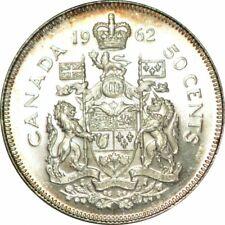 1962 Canada 50 Cents- Gorgeous Ch/Gem BU Collector Coin! - d586ssc11