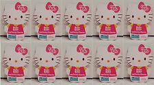 Set of 10 Sanrio Hello Kitty Eggcessory Accessory Foam & Paper Sticker Craft Kit