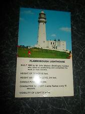 Vintage Colour Postcard Flamborough Lighthouse  Bamforth Color Gloss View Series
