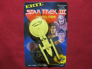 USS Excelsior 1984 Vintage Diecast Ship Star Trek III Search For Spock Ertl 3