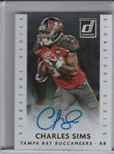 2015 PANINI DONRUSS #DSS-CHS CHARLES SIMS AUTOGRAPH ROOKIE RC BUCCANEERS 1055