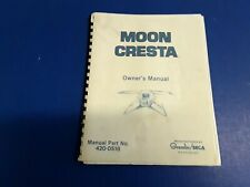 Moon Cresta by SEGA Video Arcade Game Owner's Manual