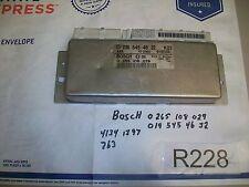2000 Mercedes Benz C Class Bosch ABS Module   0195454632   0265108029  OEM#R228+