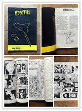 MANYCOMICS numero speciale 5-6 1982 GRAFFITI FUMETTI SICILIANI RARO