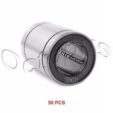 50PC Premium LM16 UU Metal Shielded Linear Bush Ball Bearing 16x28x37mm