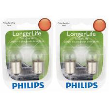 Two Philips Long Life Mini Light Bulb 97LLB2 for 97 97LL G-6 13.5V 9.3W Long ie
