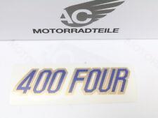Honda CB 400 Four F2 side cover panel sticker emblem decal for color antares red