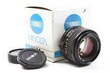 MINT IN BOX!! Minolta 50mm f:1.4 MD Late Model Lens