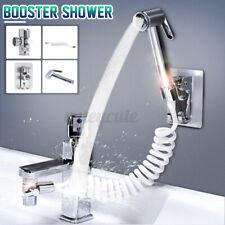 Universal Bathroom Sink Hand/Shower Spray Faucet Sprinkler+Base+Hose+Valve Set