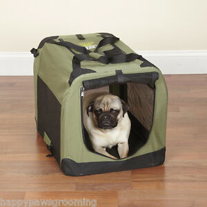 Guardian Gear Collapsible Soft Sided Portable Water Resistant Dog Crate Cage*XS