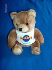 Hard Rock London t shirt teddy bear
