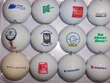 (12) Mixed Logo Golf Balls ( Bank Related - Firstar Fifth Third Bank) B#141