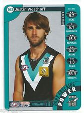 2013 Teamcoach Silver (163) Justin WESTHOFF Port Adelaide