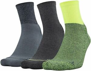 NWT Under Armour Phenom Quarter Socks 3pk Various Colors Men's L 8-12