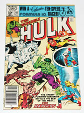 Incredible Hulk 265 -1rst Rangers Firebird Lobo Red Wolf- 1981 Marvel Comic Book