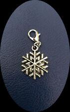 Charm Weihnachten, Schneeflocke, Eiskristall, Snowflake 3