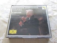 HERBERT VON KARAJAN - BEETHOVEN SYMPHONIEN 1/2/3/4/7 DEUTSCHE GRAMMOPHON 3CD SET