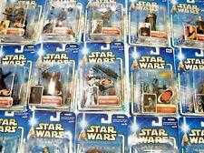 Star Wars Saga 2002 (Azul) Cardado Figuras - Moc - Ver Fotos ! (Caja)