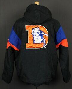 Denver Broncos Vintage 90's Starter NFL Pullover Hooded Puffer Jacket Large