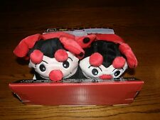 NEW DARLING Ladybug Wacky Walkers Slippers, sz S (5-11 Toddlers), Stomp & Move!