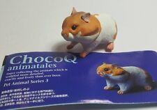 RARE Kaiyodo Animatales Hamster Pet PVC MINI FIGURE Figurine A