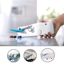Portable Stitch Sew Hand Held Quick Sewing Machine Travel Handy Repair