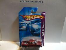 2008 Hot Wheels #139 Dard Red Nissan Titan Truck w/OH5 Spoke Wheels