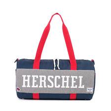 HERSCHEL SUPPLY CO SUTTON MID 22L DUFFEL BAG HOUND BLUE/RED BRAND NEW w/TAG!!