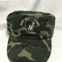 Army Security Agency-- corporal hat (CAMO)