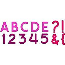 SPELLBINDERS DIES Alphabet and Numbers Plain Jane CAPITAL PT-F01N