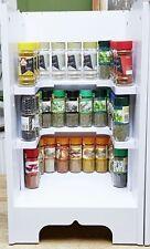 Gewürzregal für Küchenschrank steckbar Universal Steckregal Regal Zusatzregal