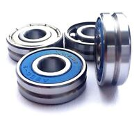 U Groove 608 zz 2rs Guide Pulley Wheel Track Roller Bearing 8x22x7mm  UK SELLER