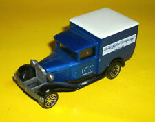 ## MATCHBOX BLUE FORD MODEL A SEDAN DELIVERY TRUCK MADE IN CHINA