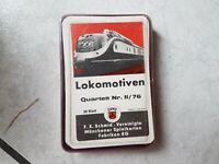 Lokomotiven   -Quartett -  70 er Jahre- von FX Schmid Nr. II/76
