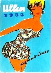 Original vintage poster project  ULKA AUSTRIA SWIMSUIT 1955 Hofmann