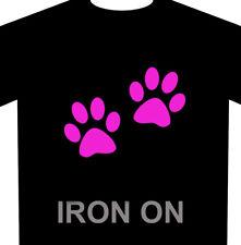 Animal Paw Print Iron-On - 2 Pack Heat Transfer Vinyl Set
