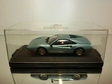 VITESSE 1:43  -  FERRARI 308 GTB  BLUE   IN SHOW CASE  - GOOD CONDITION