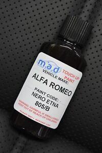 ALFA ROMEO 805B BLACK NERO ETNA 30ML TOUCH UP KIT REPAIR KIT PAINT WITH BRUSH