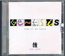 GENESIS TURN IT ON AGAIN THE HITS CD F.C.