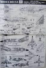 Phantom Military Aircraft Model Kit Decals