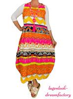 My Obsession Lagenlook Ballonkleid-Tunika-Kleid Kaftan PINK 44 46 48 50 52 54