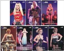 Britney Spears 7 telefoonkaarten/télécartes  (BS1-7c)