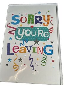 sorry your leaving card