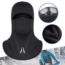 Winter Warm Full Face Mask Ski Balaclava Motorcycle Outdoor Hat Breathable Vents