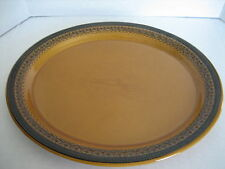 Franciscan Earthenware Multi Brown Oval Ceramic Platter 14 in. Lx12 in. W PreOwn