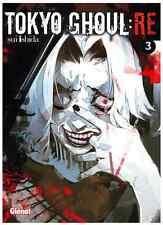 manga Tokyo Ghoul : RE Tome 3 Saison 2 Sui Ishida Glénat Walking Dead Zombies VF