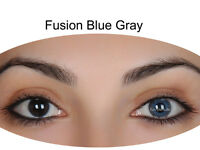Farbige grau blaue Kontaktlinsen Gray Blue Circle Lens FunnyLens
