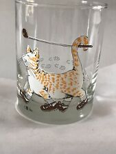 "Cora Golf Cat Shoes Hi-ball Glass 4"" x 3 /4"""