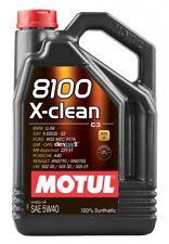 Motul 8100 x-pulire 5W40 INTERAMENTE SINTETICO OLIO MOTORE 5 LITRI FUSTO