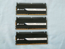 Corsair Dominator, 3 x 2GB = 6GB, PC3-12800, DDR3-1600MHz, SDRAM, TR3X6G1600C8D